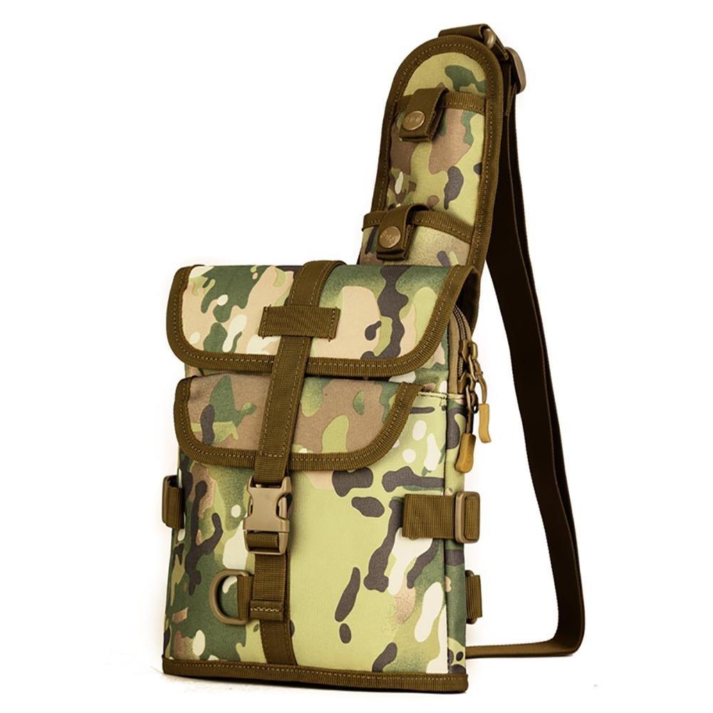 JSJ Außen Umhängetasche Travel Messenger Bag Multifunktions - Nylon, 6