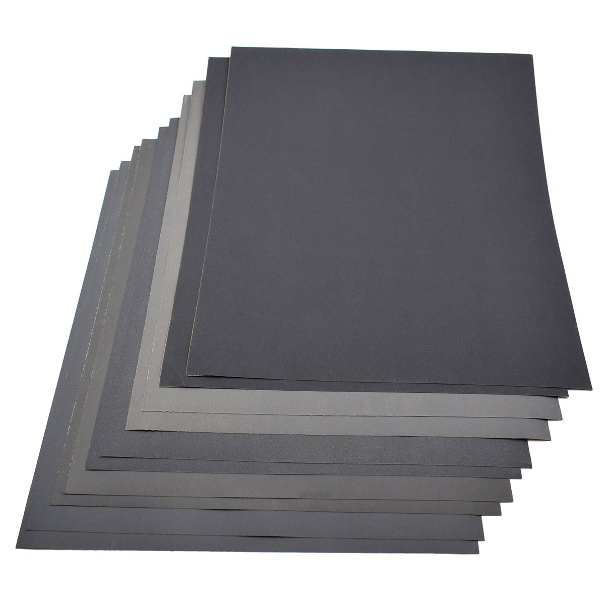2 Mixed Assorted Ultra Fine Grades Sandpaper Wet And Dry Sand Paper Grit 2000
