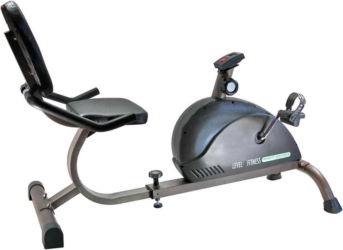 PHOENIX 99608 Magnetic Recumbent Exercise Bike: Amazon.es ...