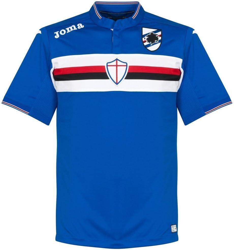 1ª Equipación Sampdoria 2015/2016 - Camiseta oficial Joma, talla XL: Amazon.es: Deportes y aire libre