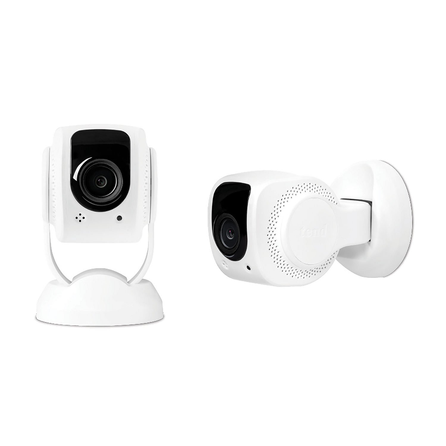 Tend Secure Lynx 1080p Wi-Fi Indoor Security Camera 2-Pack, Facial Recognition