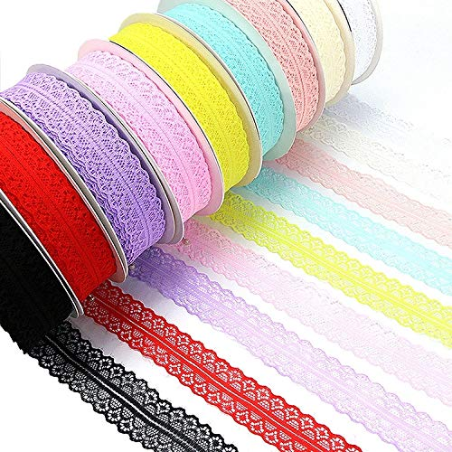 Dig dog bone Exquisite Lace DIY Manual Bowknot Gift Bouquet Ribbons Flowers Packaging Ribands, Size: 3.0cm50m Random Color ()