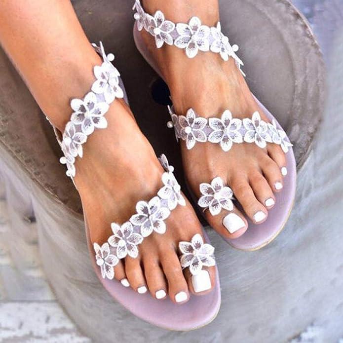 GJKK Damen Sandalen Damenschuhe Sandaletten Pantoletten