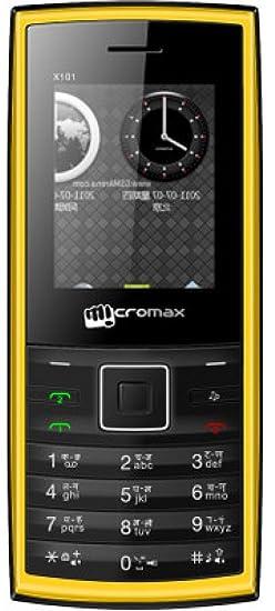 Micromax X101i (Yellow)