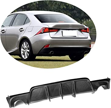 F Sport Models only Duraflex Replacement for 2014-2015 Lexus is Series IS350 IS250 AM Design Style Rear Diffuser 1 Piece