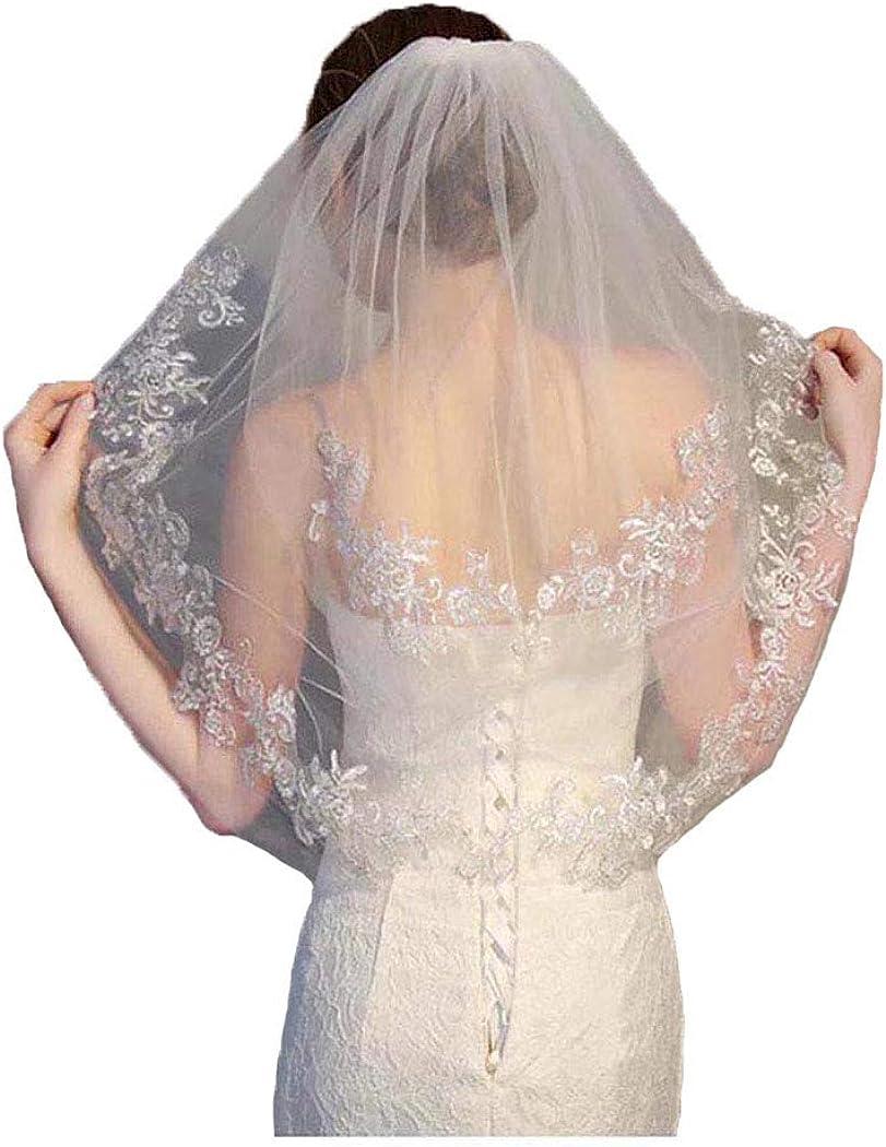 Azalea Lace Circular Veil \u2022 Made to Order \u2022 Double Layer Circle Veil with Blusher