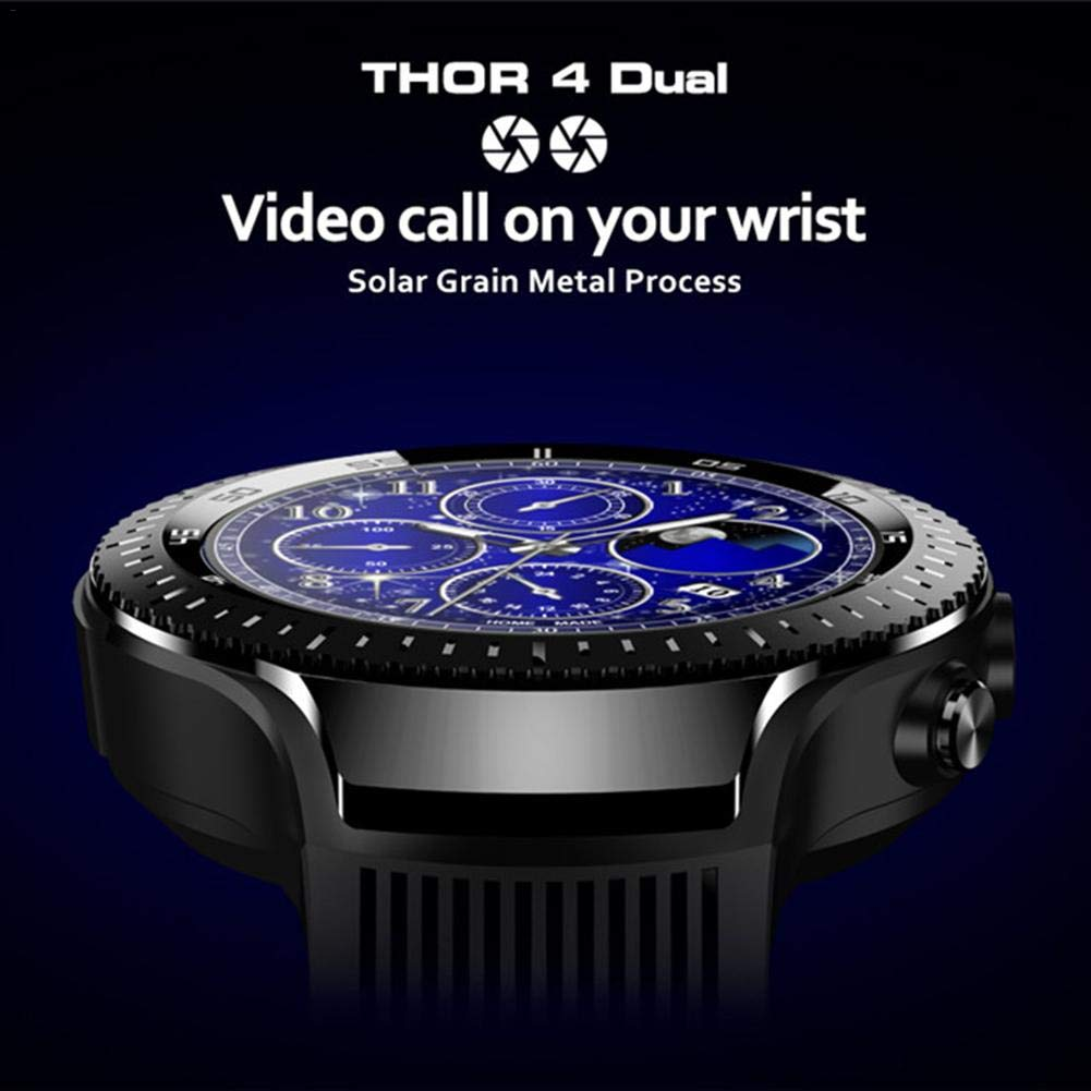 Zeblaze Thor 4 duales Smart Watch Reloj Inteligente Android 7.1 4G ...
