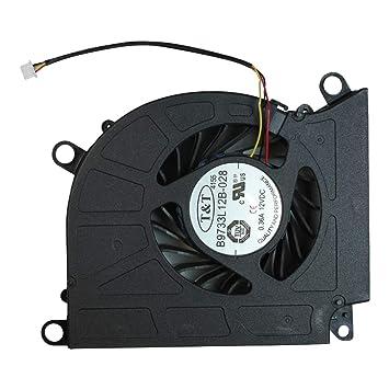 Power4Laptops MSI Gaming GT70 Ventilador para Ordenadores ...