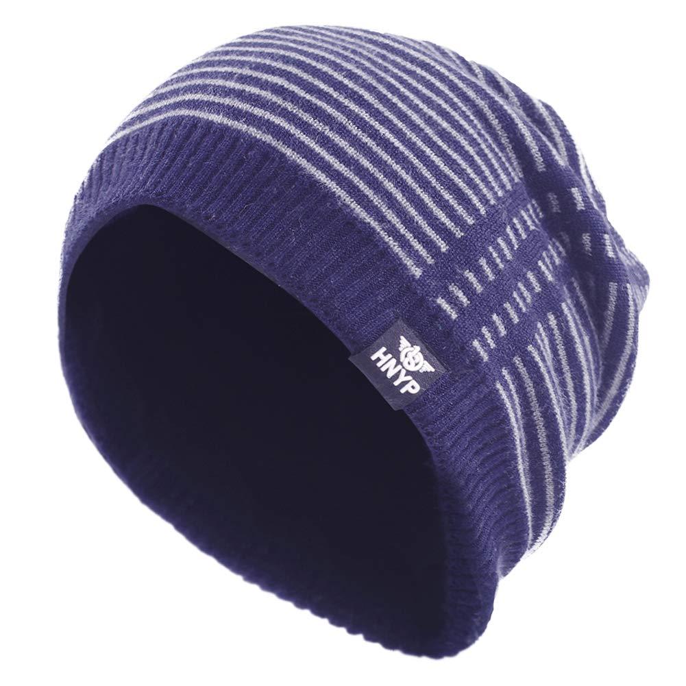 56106c9f71e Janey Rubbins Sports Winter Soft Knit Beanie Hat Warm Fleece Lined Skull  Ski Cuff Stocking Cap (Black) at Amazon Men s Clothing store