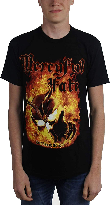 Black T-Shirt NEW /& OFFICIAL! Mercyful Fate /'Don/'t Break The Oath/'