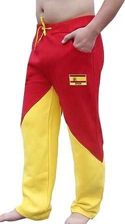 Espana Pantalones de chándal Spain Lounge para Hombre: Amazon.es: Ropa y accesorios