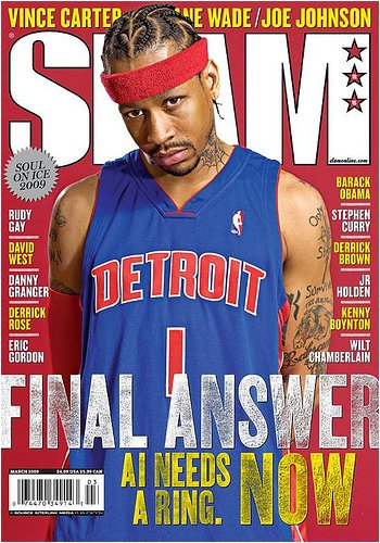 SLAM Magazine: Allen Iverson (March 2009)