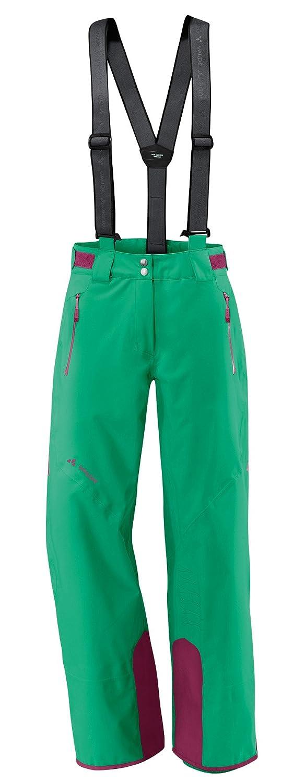 Green-Peppermint 12 Vaude Women's Cheilon Stretch II Trousers