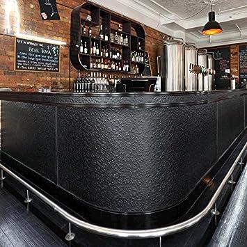 Panel decorativo autoadhesivo polipiel diseño flores WallFace 13472 FLORAL barrocas relieve 3D negro 2,60 m2: Amazon.es: Bricolaje y herramientas