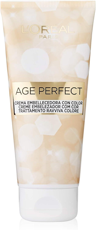 LOréal Paris Casting Crème Gloss Age Perfect Crema Embellecedora con Color, Tono Castaño - 3 Paquetes de 116 gr - Total: 348 gr