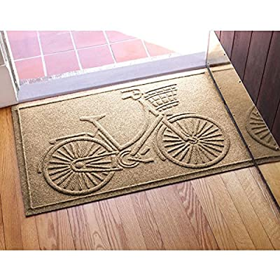 Aqua Shield Nantucket Bicycle Doormat