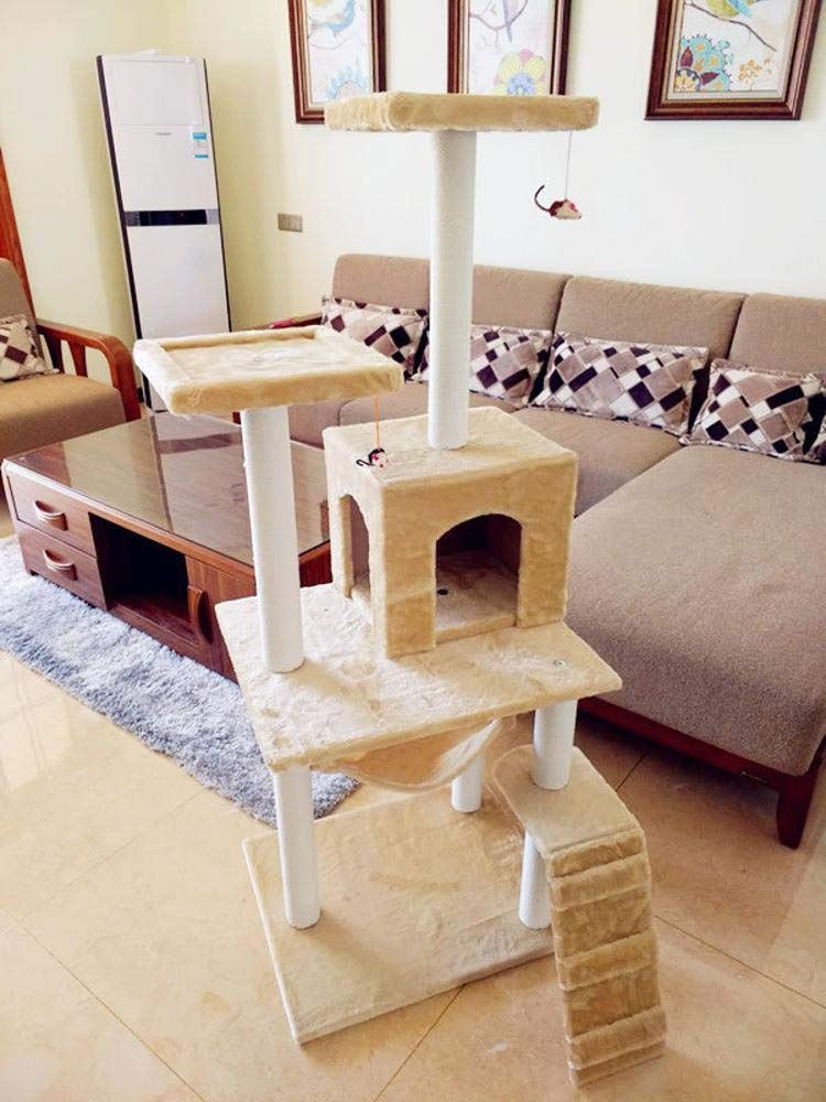 Weiwei Cat Climbing Frame cat Tree cat nest for Game Sleeping 60cm 50cm  150cm