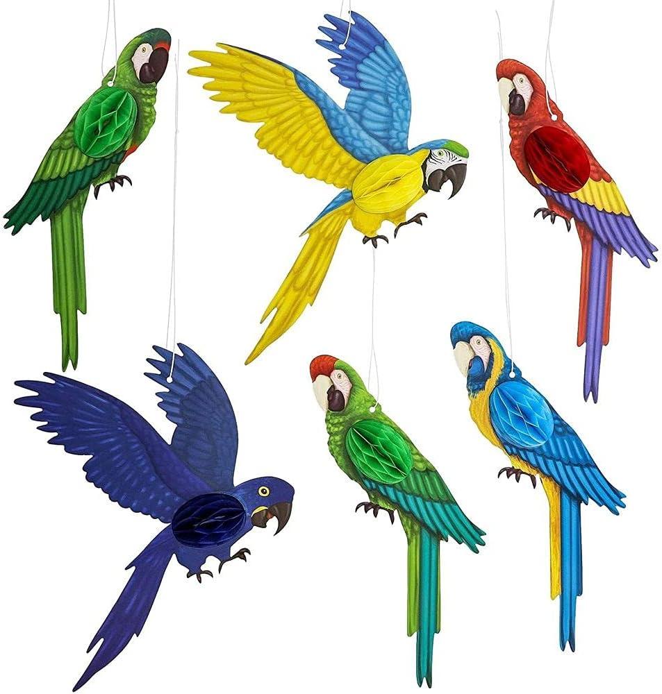 Paper Birds LoveBirdsDeco Pendant 2-SetValentine/'s Day
