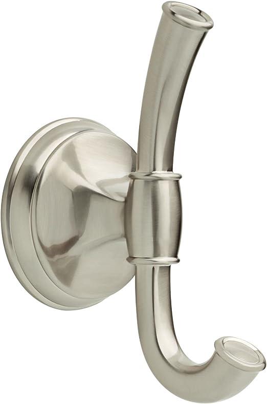 Delta Crestfield Double Towel Hook in Chrome 125861