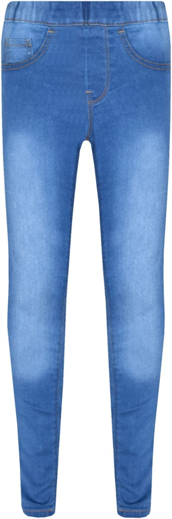 A2Z 4 Kids/® Girls Stretchy Jeans Kids White Denim Ripped Pants Fashion Frayed Trousers Jeggings Age 5 6 7 8 9 10 11 12 13 Years