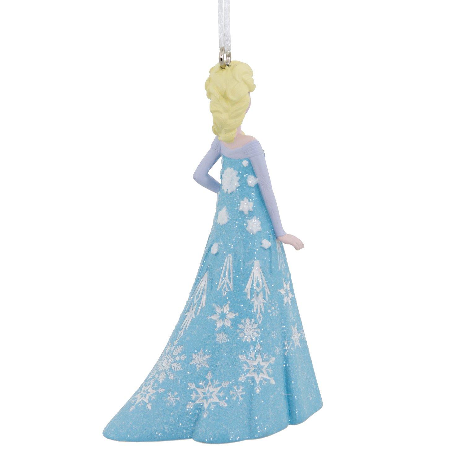 Amazon.com: Hallmark Disney Frozen Elsa Holiday Ornament: Home ...