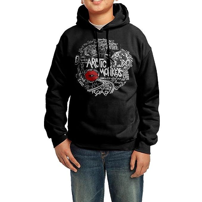 Youth Band Arctic Monkeys Symbol Hooded Sweatshirt Amazon