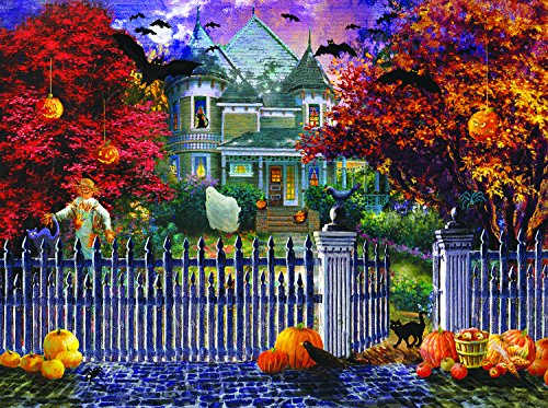 Halloween House 1000 Piece Jigsaw Puzzle by SunsOut