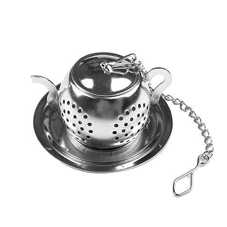 yimosecoxiang - Filtro difusor de té con forma de tetera de ...