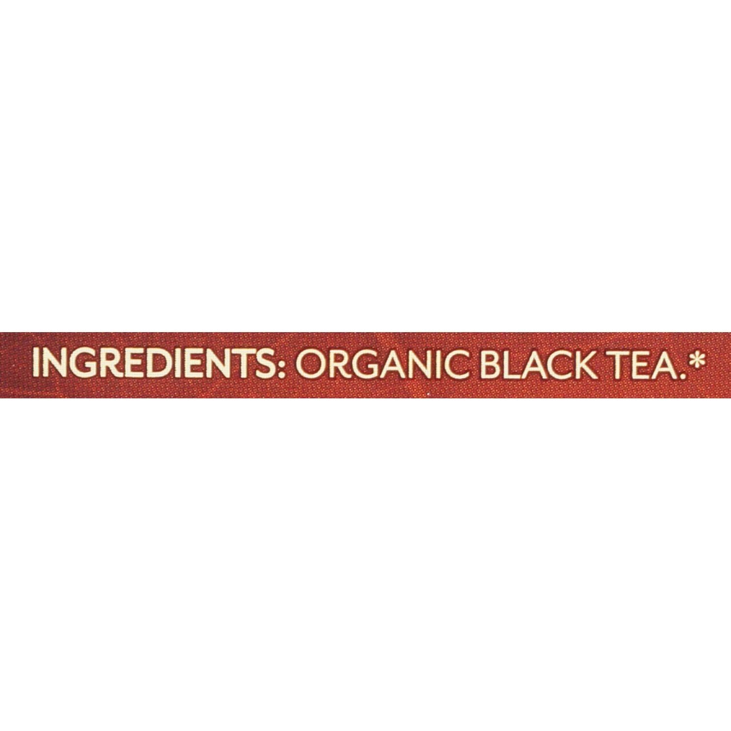 Twinings of London Organic and Fair Trade Certified Breakfast Blend Tea Bags, 20 Count (Pack of 6)