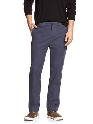 Banana Republic Men's Emerson-Fit Chino Pants Vintage Navy 32X32