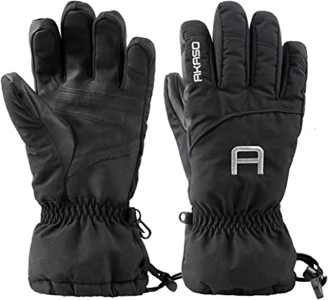 Small Adult Weatherproof Gloves Perfect for Outdoors Snow Rain