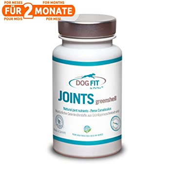 DOG FIT by PreThis JOINTS greenshell | Extracto de mejillón de labios verdes para perros |