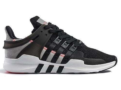 huge selection of 21609 f59a4 adidas - Zapatillas de Telasintético para Hombre Negro Negro, Color Negro,  Talla 42 EU Amazon.es Zapatos y complementos