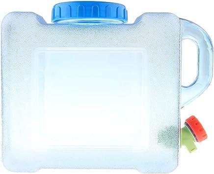 f/ür Trinkwasser perfk Wasserbeh/älter//Wasserkanister mit Zapfhahn 5 Liter// 8 Liter