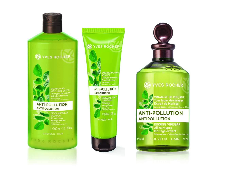 Amazon.com   Yves Rocher Botanical Hair Care Anti Pollution Detox (Set)    Beauty 20de2e244a9ef