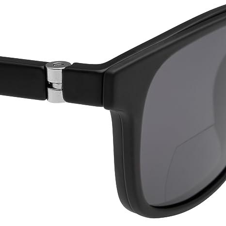 bifocales Gafas Gafas de Lectura para hombre magnético con sol Clip