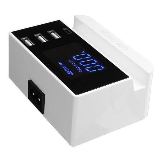 Tutoy 3 Puerto Smart USB Cargador 5V 4A Cargador Adaptador ...