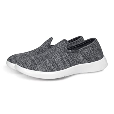 LeMouton Style Unisex Wool Shoes (with 2pcs of Insole) | Men Women Fashion Sneakers | Comfortable Lightweight Casual Slip on | Loafers & Slip-Ons