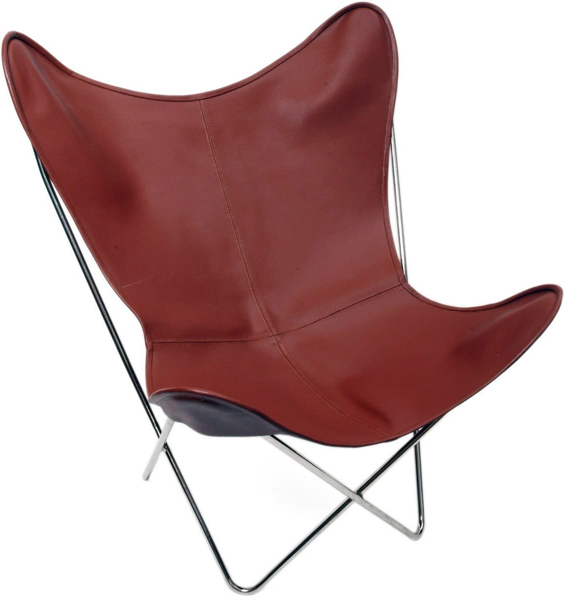 Only Cover. Classic Cover Cowhide Leather BKF Butterfly Chair