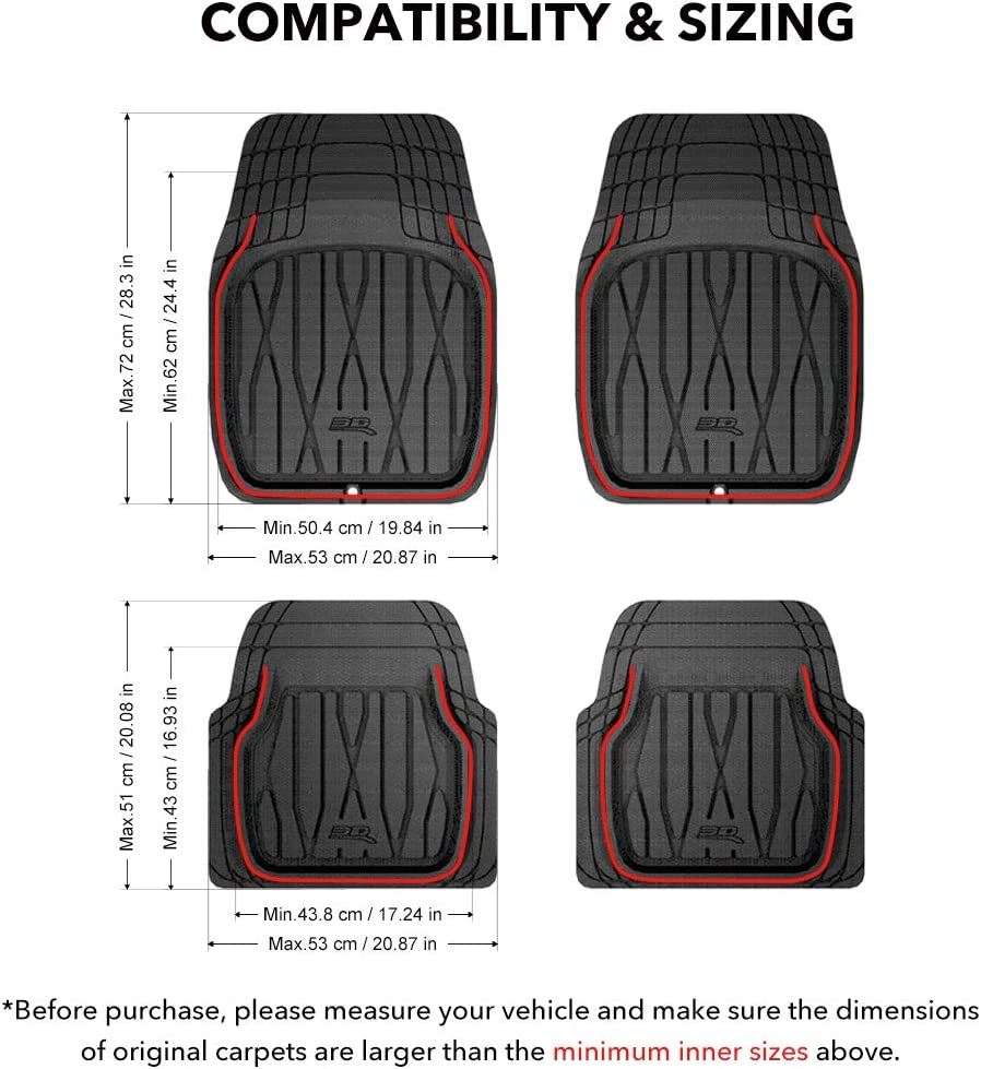 GGBAILEY Chocolate Brown Driver /& Passenger Floor Mats Custom-Fit for Lexus RX330   2004-2006