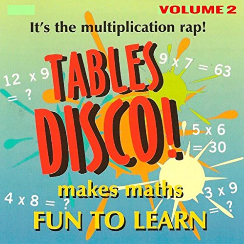 12x table reversed and tests by tables disco on amazon for 12x table song