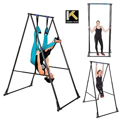 Amazon.com : KT Indoor Outdoor Yoga Trapeze Stand Frame Model KT1 ...