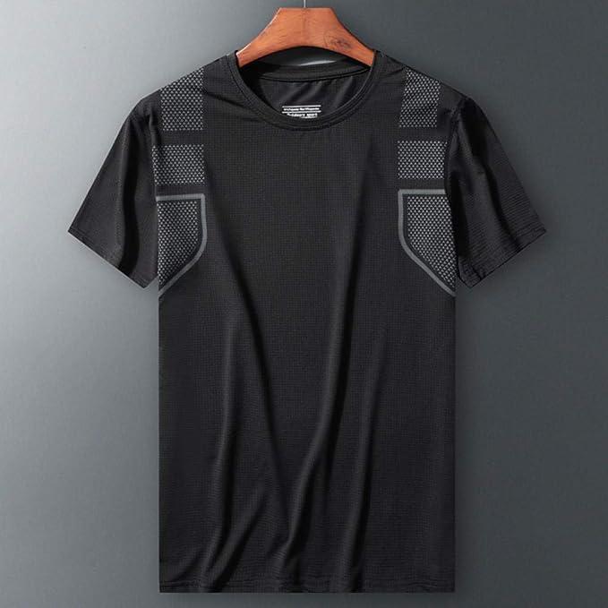 Herren Sport T-Shirt Funktionsshirt aus Mesh Regular Fit