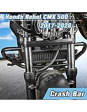 Lorababer Motorcycle CMX 500 Highway Engine Guard Crash Protection Bar Frame Bumper for Honda CMX500 Rebel 500 2017-2021 Frame Protection