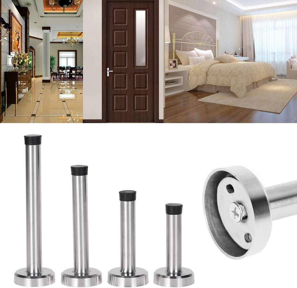 Tope de puerta de acero inoxidable protector de pared con amortiguaci/ón de sonido 150