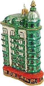 Pinnacle Peak Trading Company Sentinel Building Polish Glass Christmas Tree Ornament Travel USA San Francisco