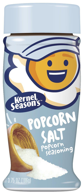 Popcorn Seasoning, Salt, 3.75 oz