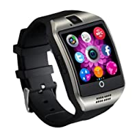 Qiufeng Q18 Smart Watch Smartwatch Bluetooth Touchscreen Wrist Watch with Camera Unlocked Cell Phone TF/SIM Card Slot for Android and IPhone Smartphones for Kids Girls Boys Men Women