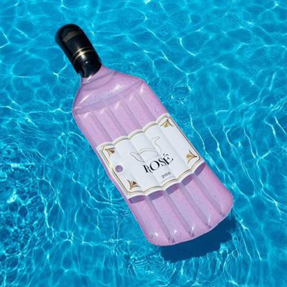 JF Fila Flotante Botella Inflable Gigante balsa Flotante de ...