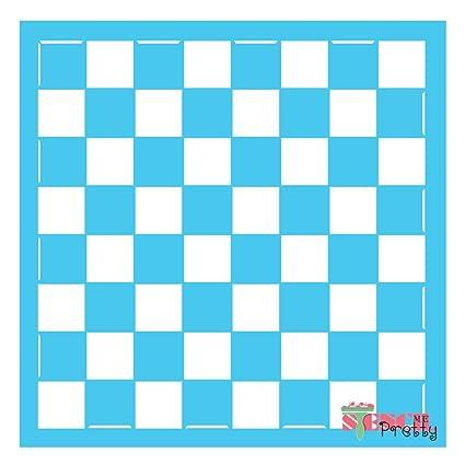 Chess/Checkers Board Stencil - (Multi Pack- M, L, XL)
